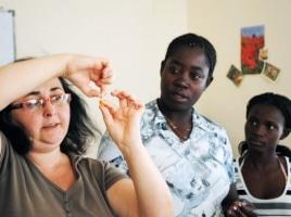 Angola sdr. Gulovou – červen 2010