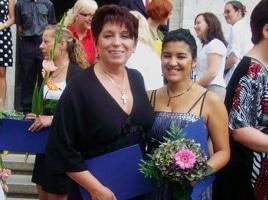 Promoce našich romských studentů – červen 2010
