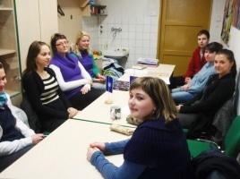 Doučovatelé na evaluační schůzce – 2.2.2011