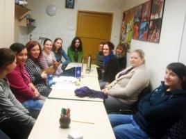 Doučovatelé na evaluační schůzce – 17.12.2010