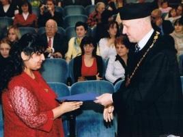 Promoce našich romských studentů – březen 2010
