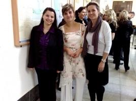 Promoce našich romských studentů – březen 2011