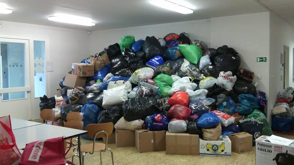 Sbírka oblečení pro Ukrajinu